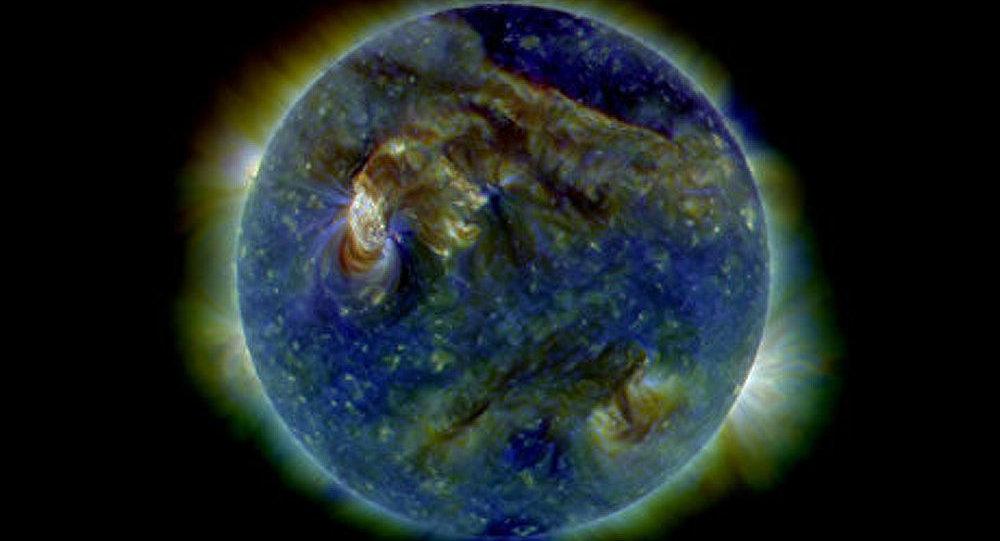Un orage magnétique arrivera sur la Terre ce samedi