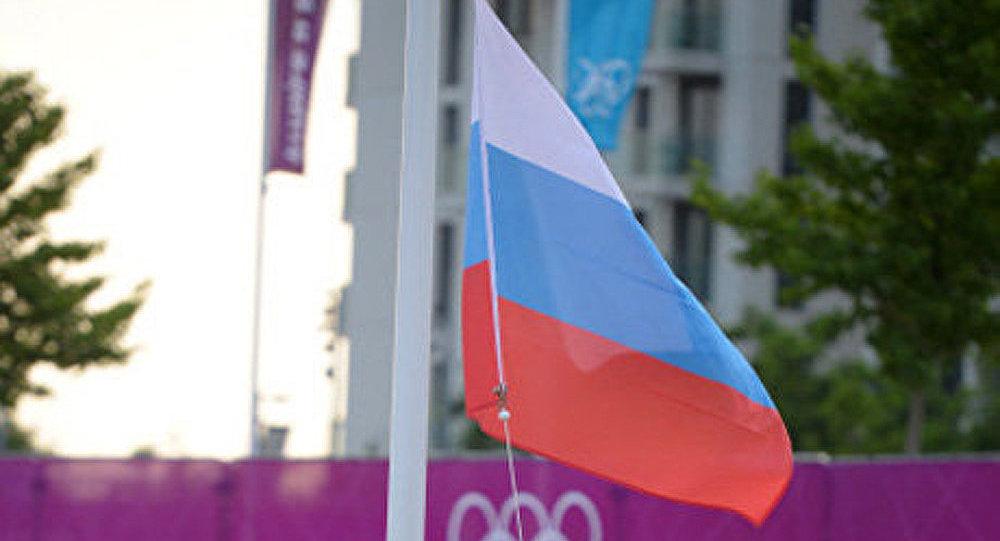 La Russie a hissé son drapeau sur le village olympique