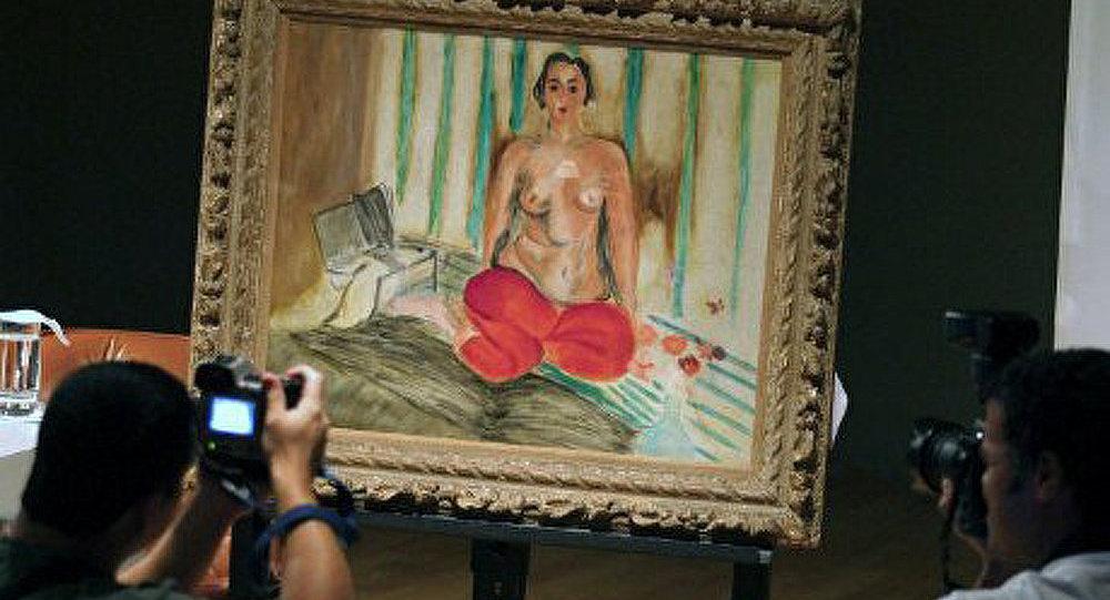 Le tableau Odalisque au Pantalon rouge a été retrouvé aux Etats-Unis