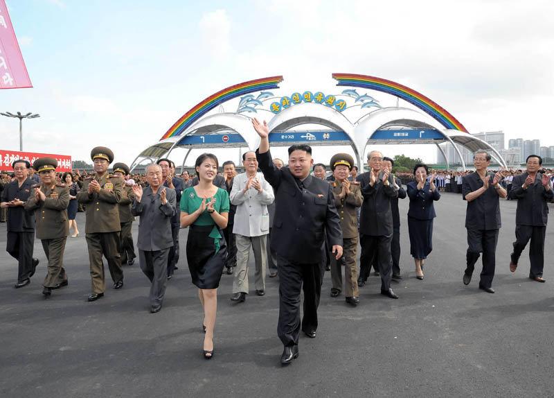 Kim Jong-un est devenu le Chef de son Etat fin 2011 suite au décès de son père Kim Jong-il
