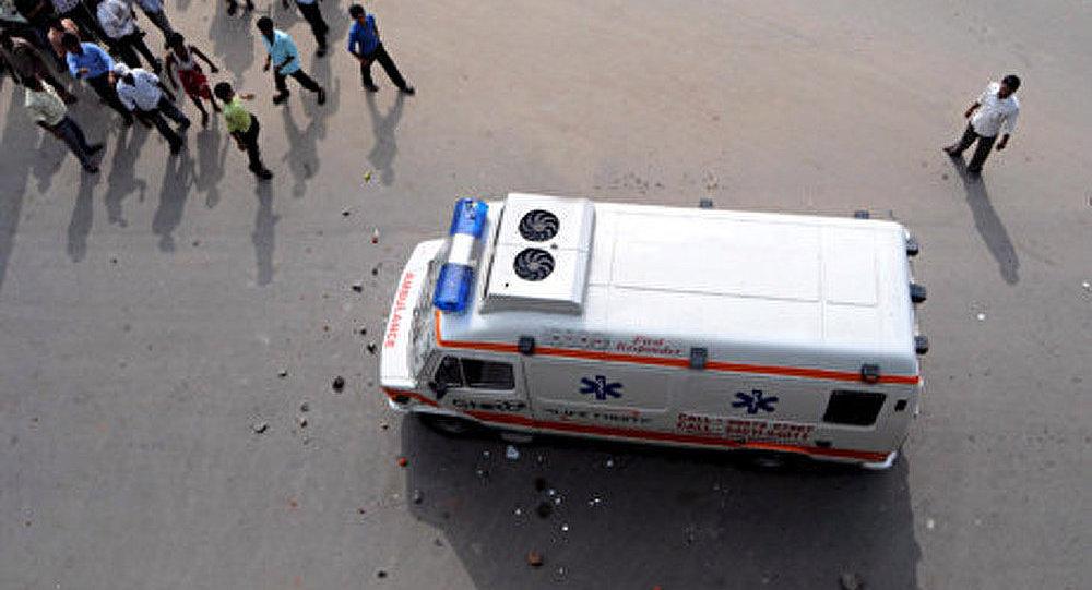 Une estacade de métro s'écroule à Mumbai
