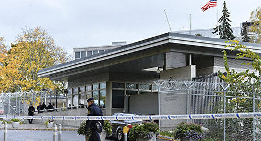 L'ambassade des Etats-Unis à Stockholm évacuée
