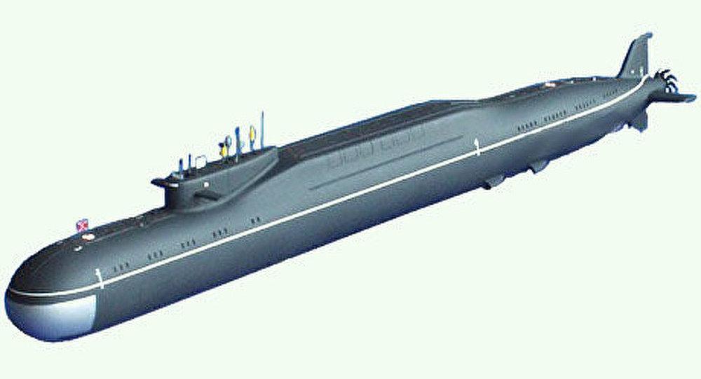Le troisième sous-marin lanceur de la classe Boreï a été lancé