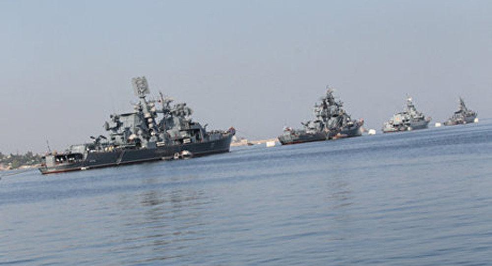 Le troisième navire russe est allé en Syrie