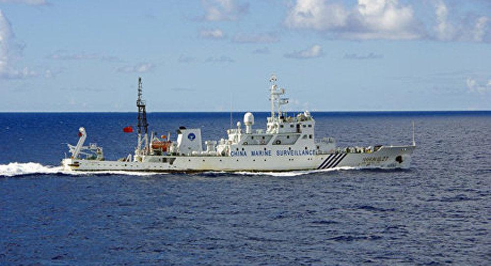 Une patrouille japonaise a arrêté un navire de pêche chinois