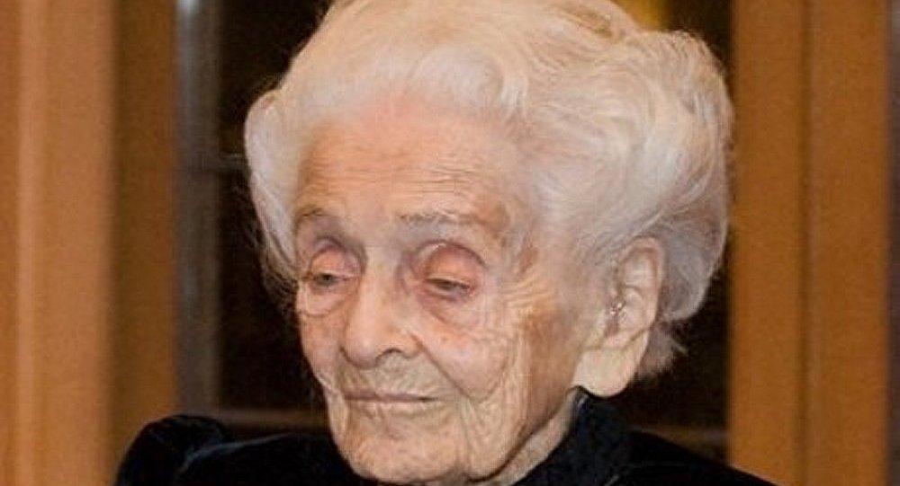 Le lauréat du prix Nobel Levi-Montalcini est décédée