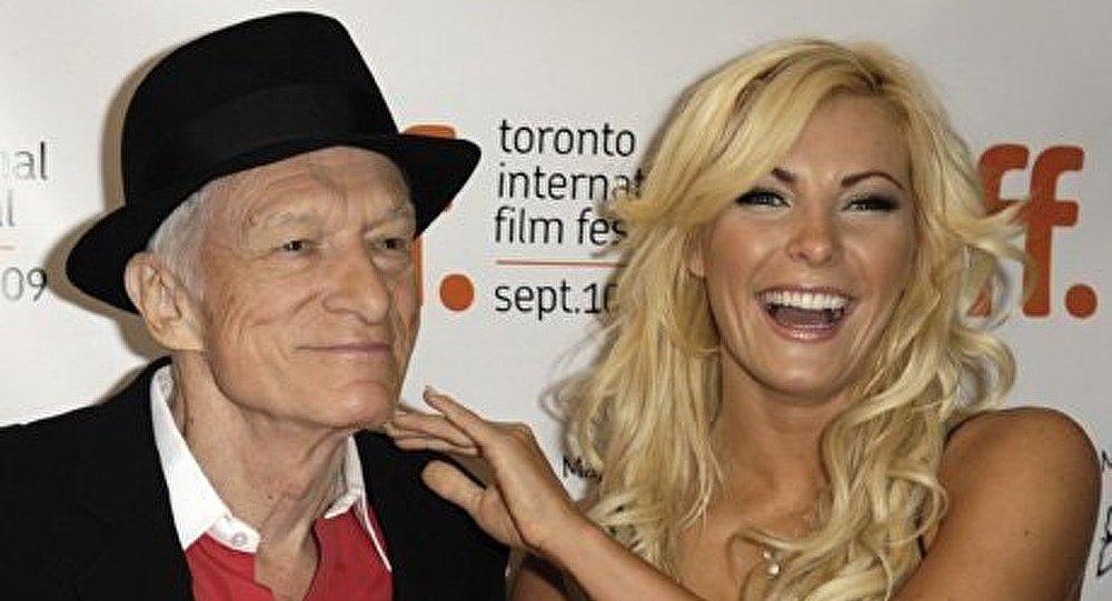 Le fondateur de Playboy s'est marié à 86 ans