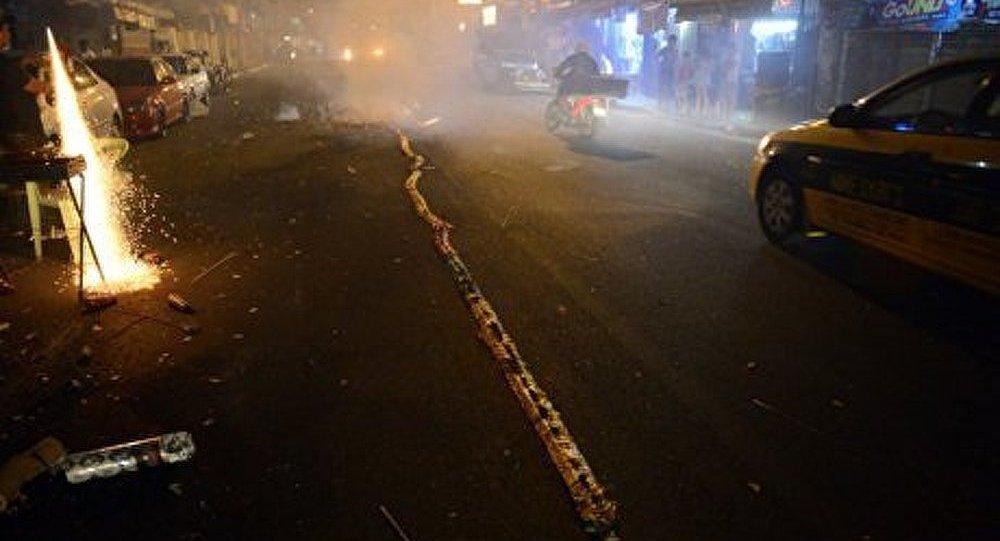 Philippines : 400 victimes des feux d'artifice contre les esprits malins