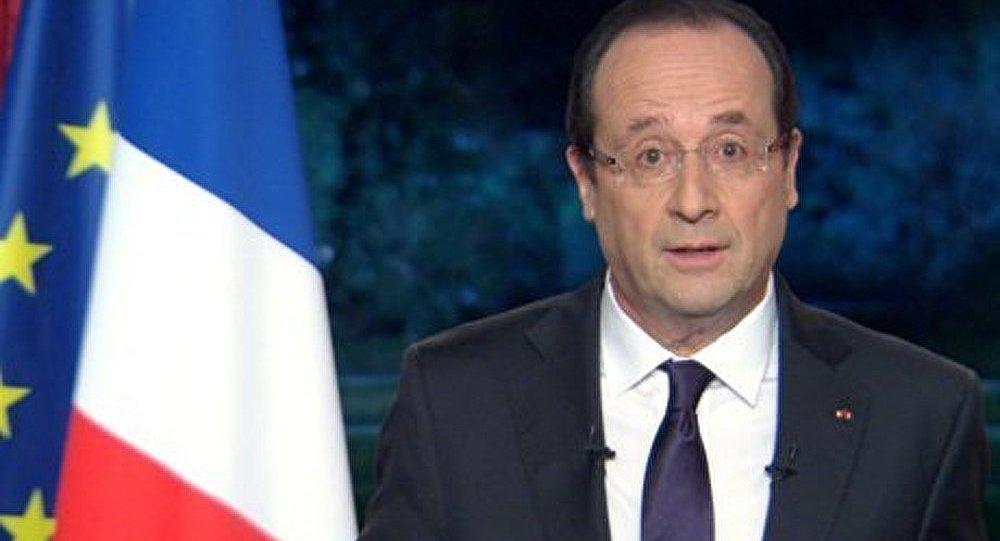 France/Nouvel An : le message de confiance de François Hollande