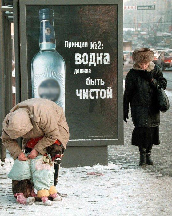 Le mot « vodka » est le mot le plus utilisé par les étrangers en voyage en Russie.