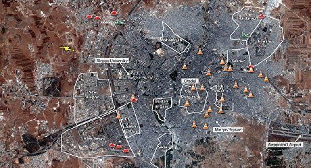 Les rebelles prennent le contrôle d'un aéroport international en Syrie