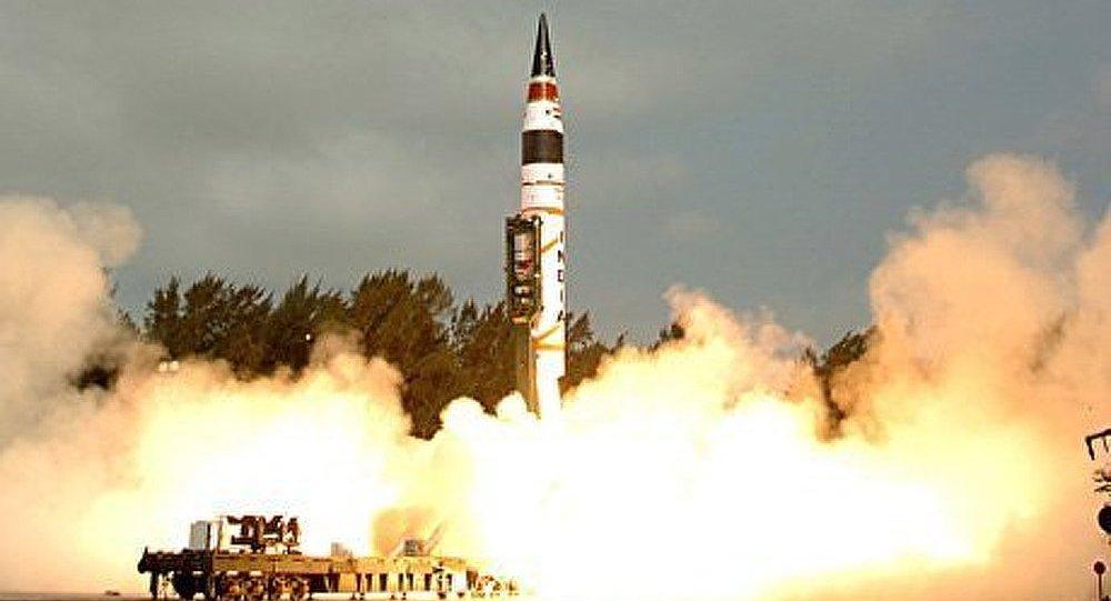 L'Inde construit un nouveau missile balistique