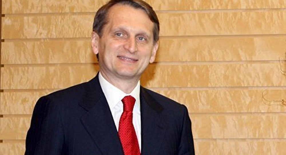 Sergueï Narychkine achève sa visite en France