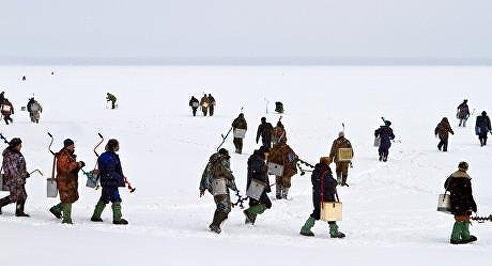 Baltique : des pêcheurs sauvés de la banquise à la dérive