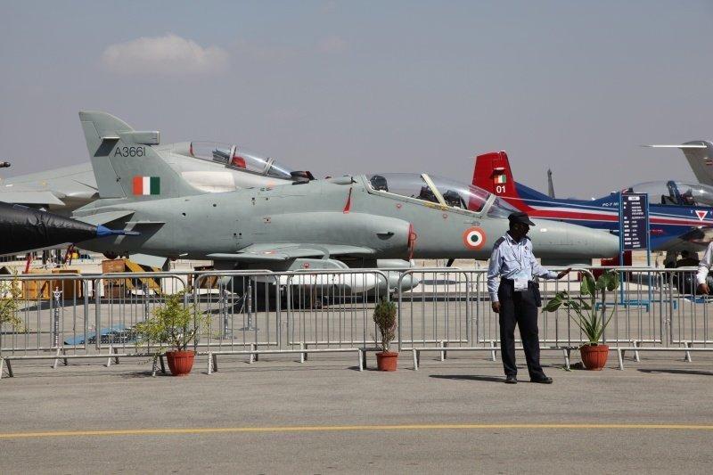 À l'exposition Aero India 2013