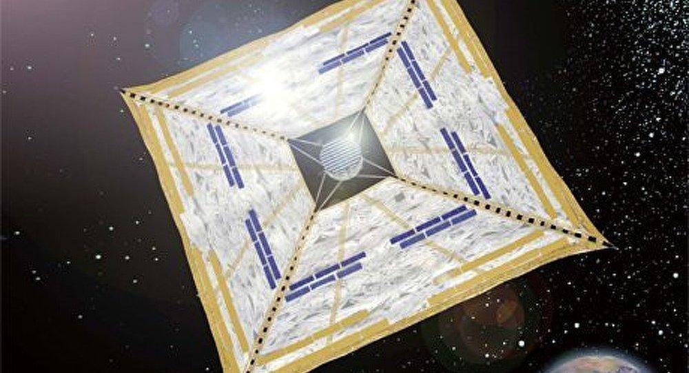 NASA : une voile solaire géante qui se déplacera grâce à la lumière