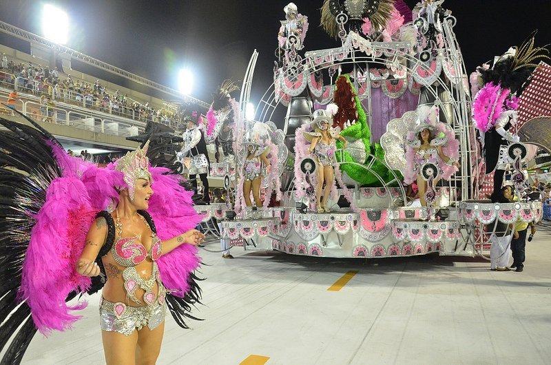 Toutes les couleurs du carnaval à Rio de Janeiro