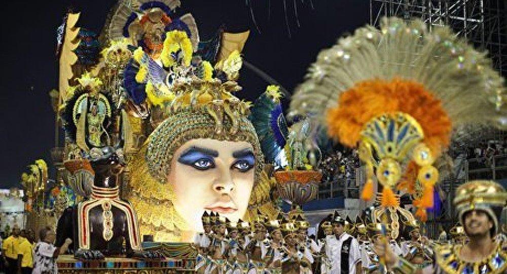 Bousculade au carnaval de Rio de Janeiro