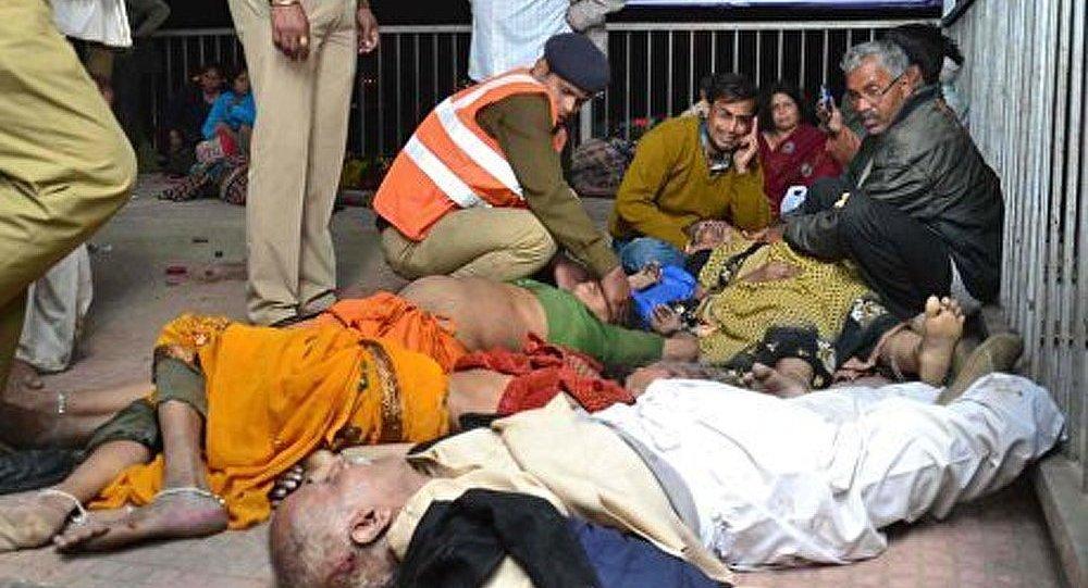 Au moins 36 morts dans une bousculade en Inde