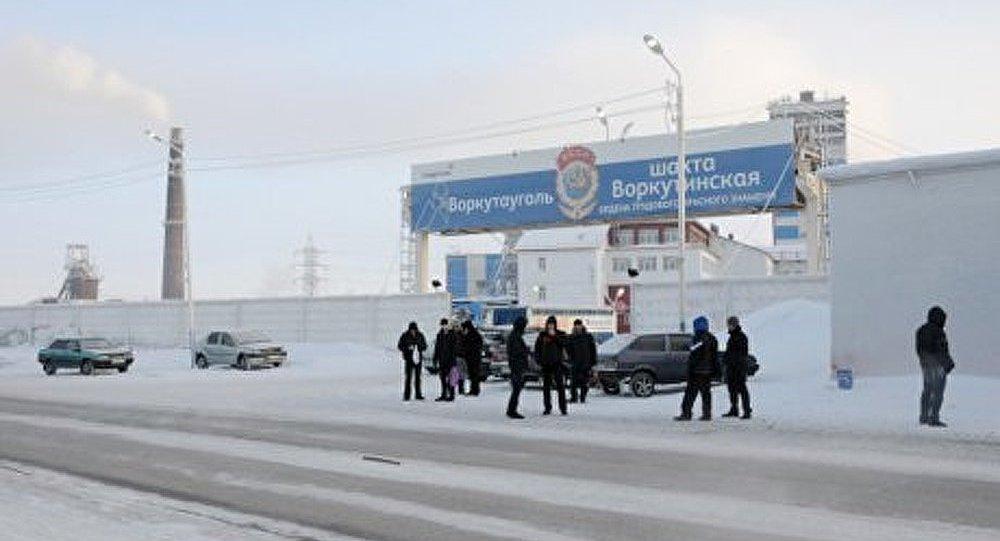 L'explosion dans la mine de Vorkoutinskaïa : 18 morts