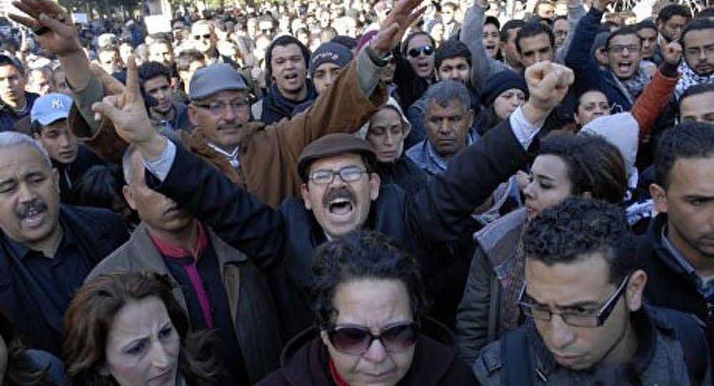 Tunisie : les manifestants exigeant la démission du gouvernement