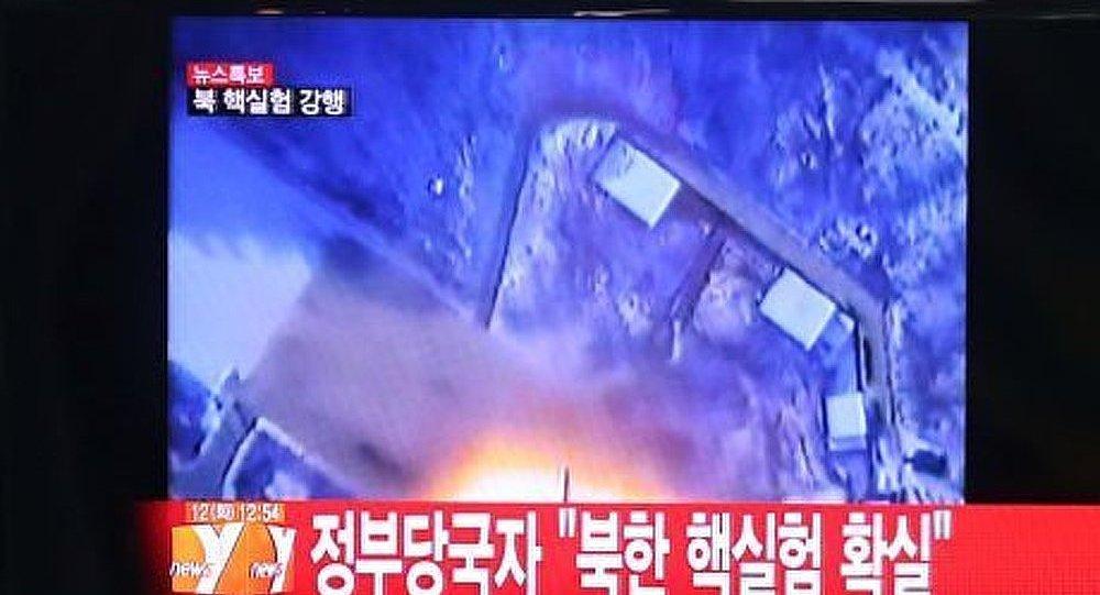 Pyongyang annonce le succès de son essai nucléaire