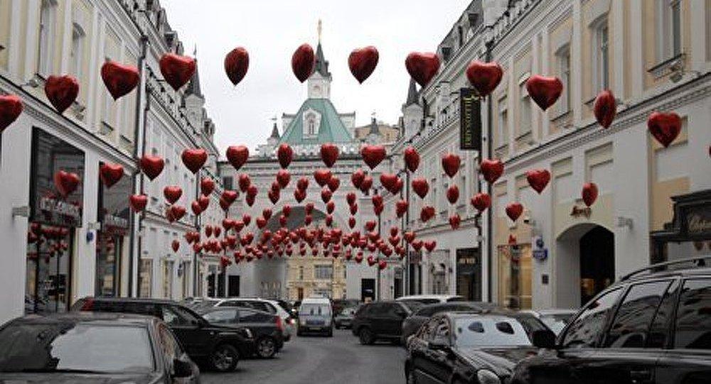 La Russie célèbre la Saint-Valentin
