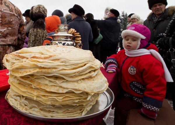 La Maslenitsa a eu lieu en Russie