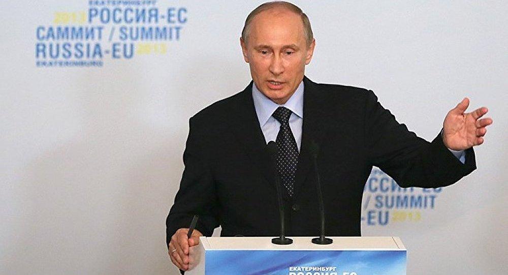 Syrie : Poutine déçu par la levée de l'embargo sur les fournitures d'armes