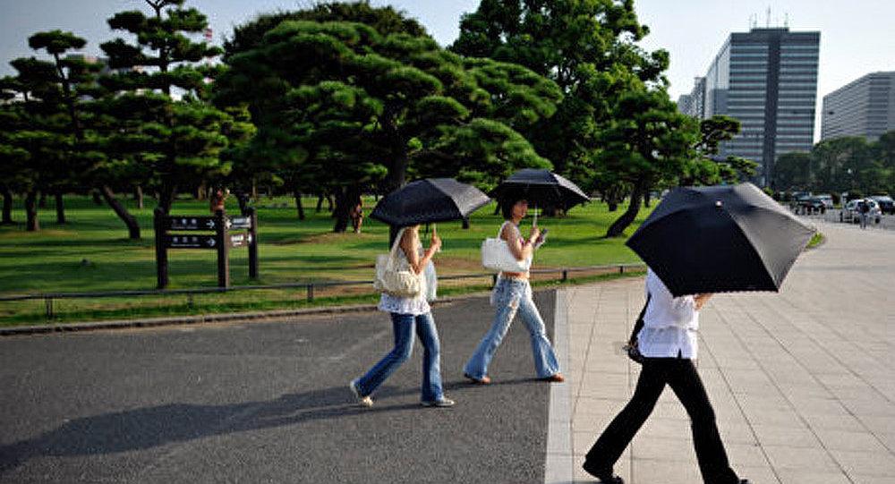 La chaleur au Japon : des centaines de personnes hospitalisées