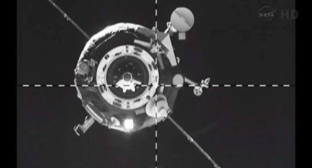 Le vaisseau cargo spatial Progress s'est amarré à l'ISS