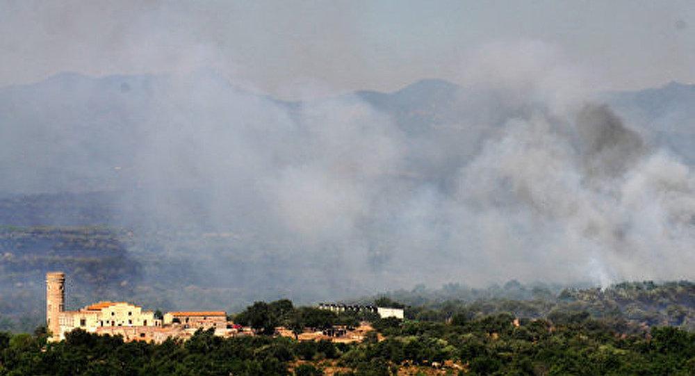 Espagne: un feu de forêt fait rage sur l'île de Majorque