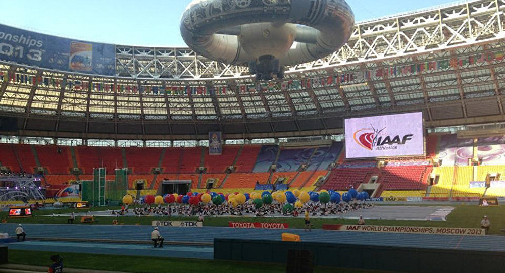 Moscou accueille les championnats du monde d'athlétisme