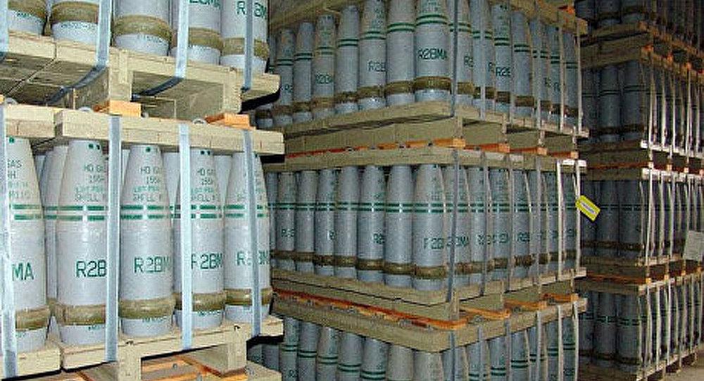 Armes chimiques : la Russie a détruit plus de 75% de ses arsenaux