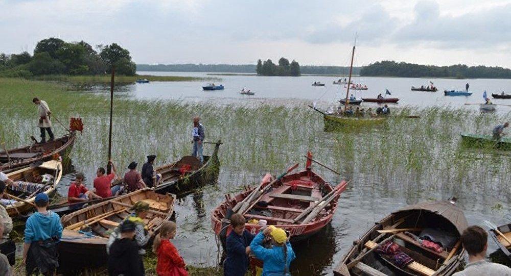 Un festival de construction navale à Kizhi