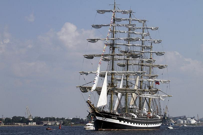 Photo : le Krusenstern.