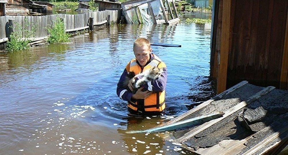 L'évacuation des habitants se poursuit à Khabarovsk