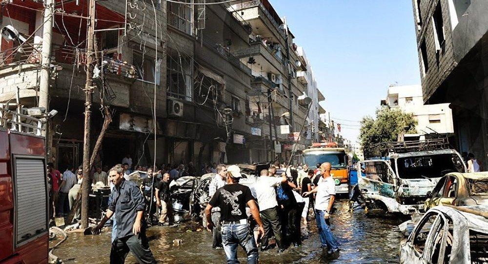 Syrie : deuxième journée de bombardements dans les banlieues de Damas
