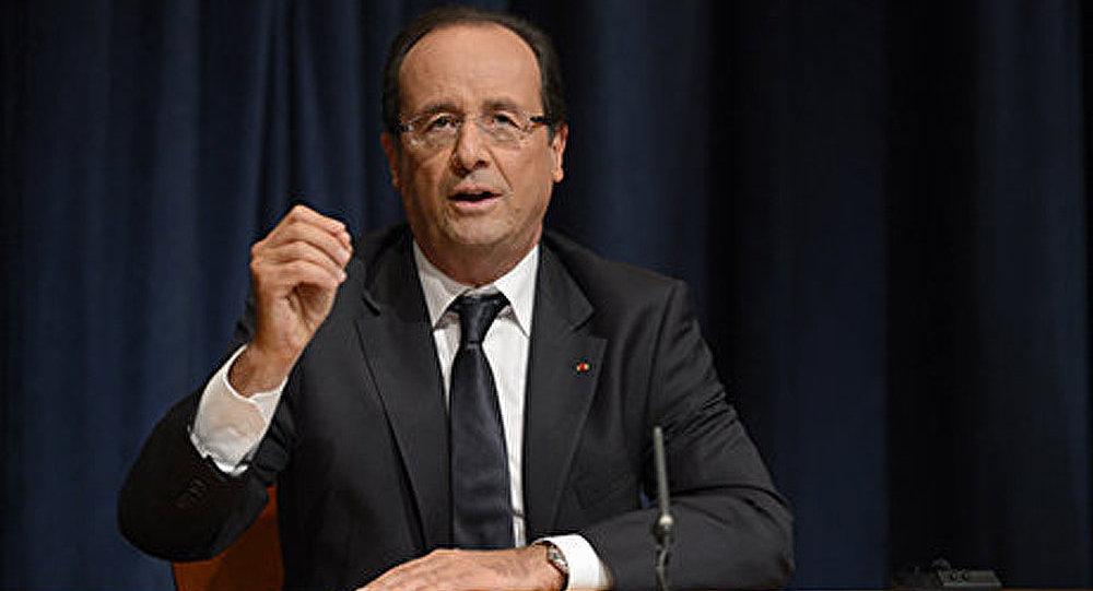 François Hollande, Damas est « responsable » de l'attaque chimique
