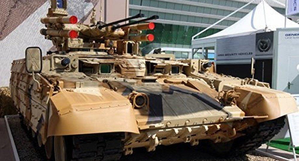 Le véhicule de combat russe Terminator-2 sera bientôt présenté au public