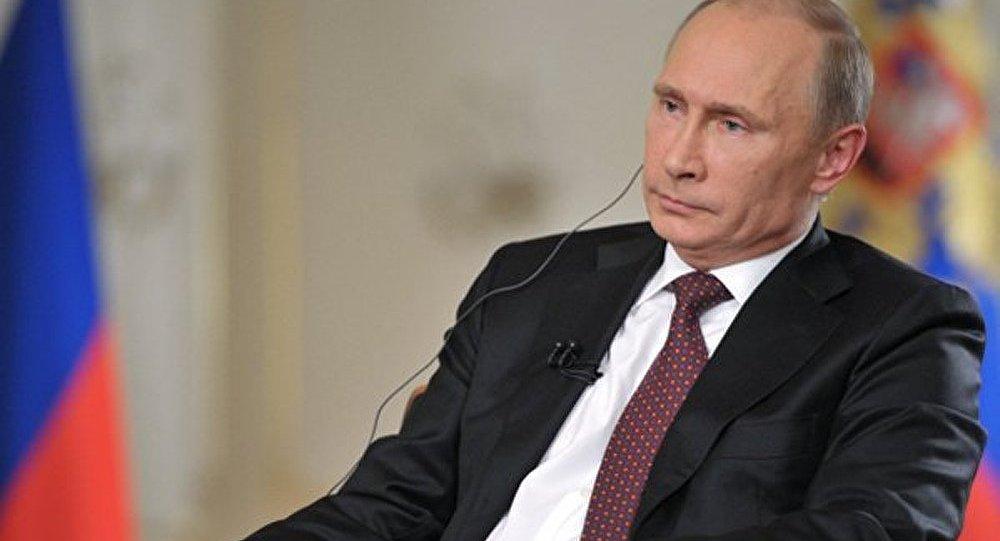 Poutine : les USA comptent qu'après la frappe en Syrie l'opposition prendra le pouvoir