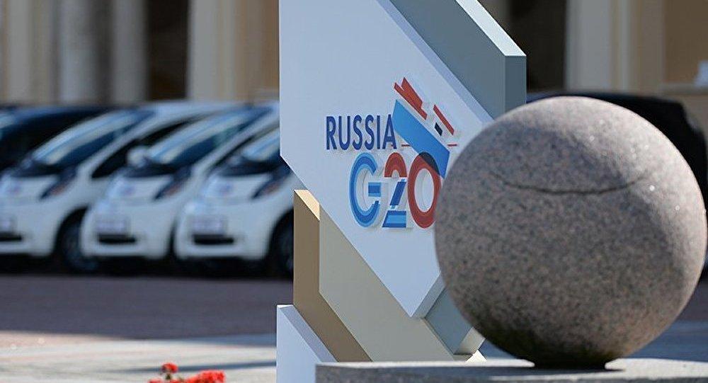 Les leaders du G20 se rencontrent à Saint-Pétersbourg