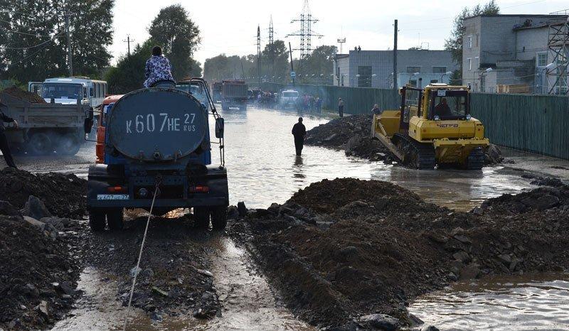 L'Extrême-Orient russe sous les eaux