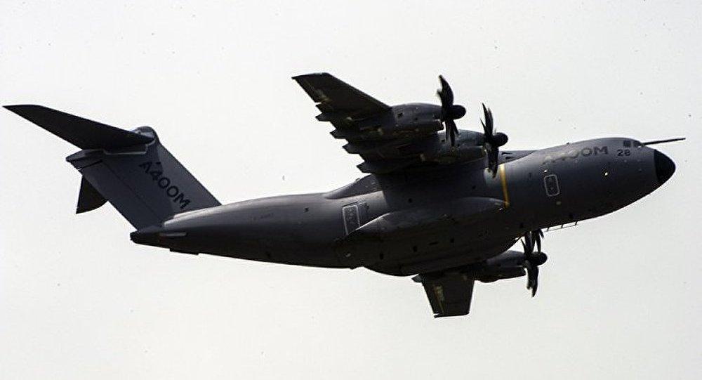 Airbus a livré son premier avion de transport militaire A400M