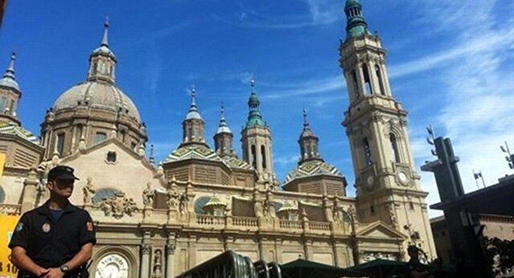 Espagne : explosion dans une cathédrale