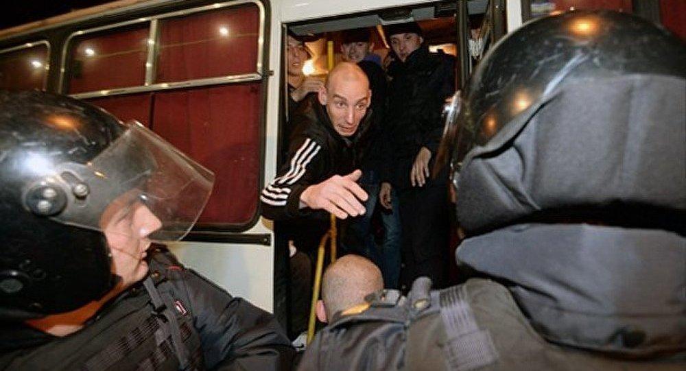 50 nationalistes arrêtés au Sud de Moscou