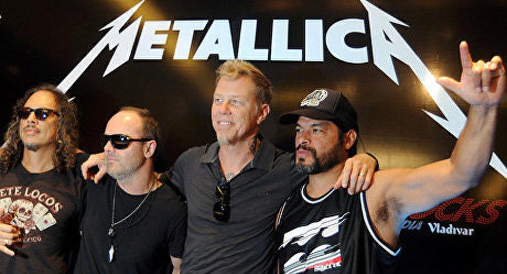 Metallica chantera en Antarctique