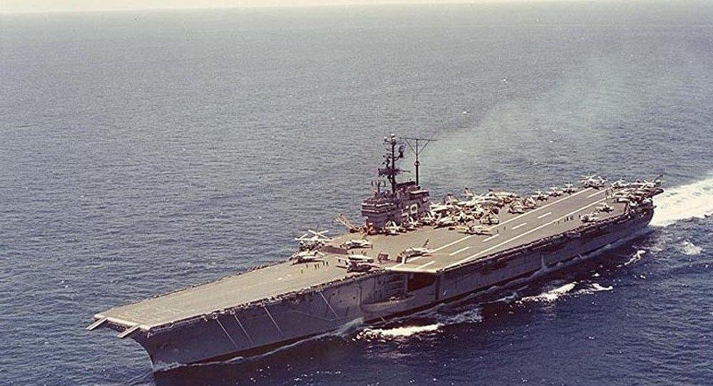 USA : un porte-avions vendu à 1 cent