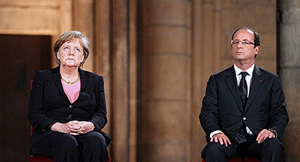 Rencontre Hollande-Merkel à Bruxelles : l'espionnage américain au menu