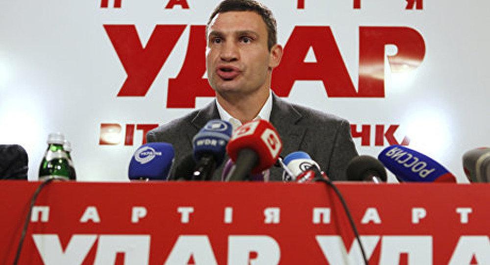 Klitchko disposé à présenter sa candidature à la présidentielle en Ukraine